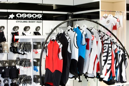 ProCycle shop interiér dresy