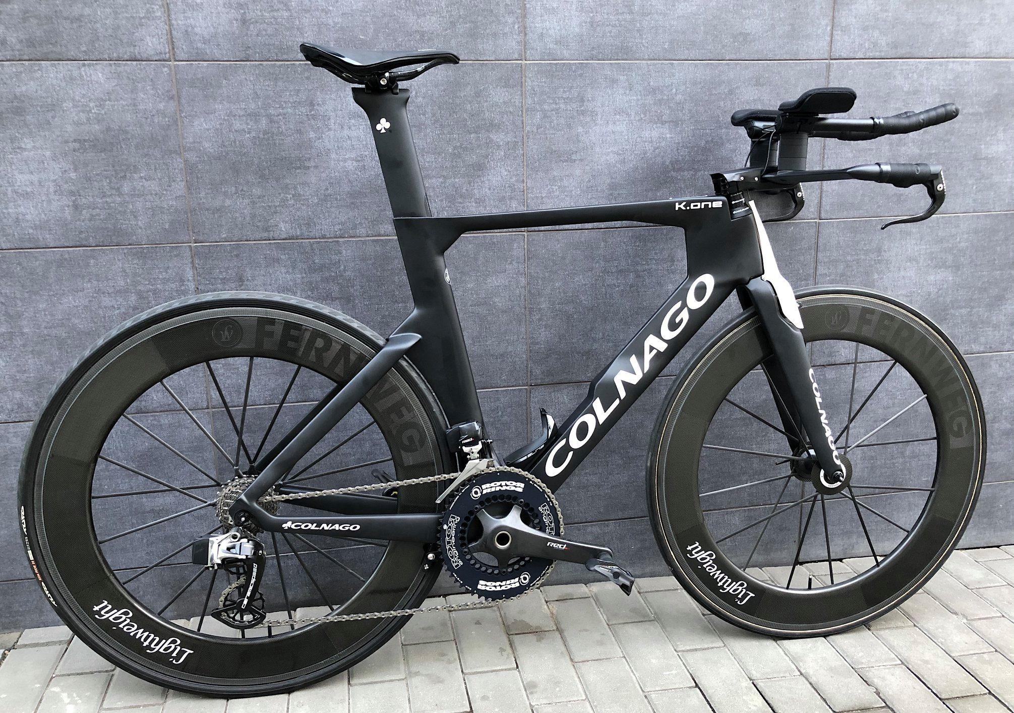 Časovkářský speciál / triatlon Colnago
